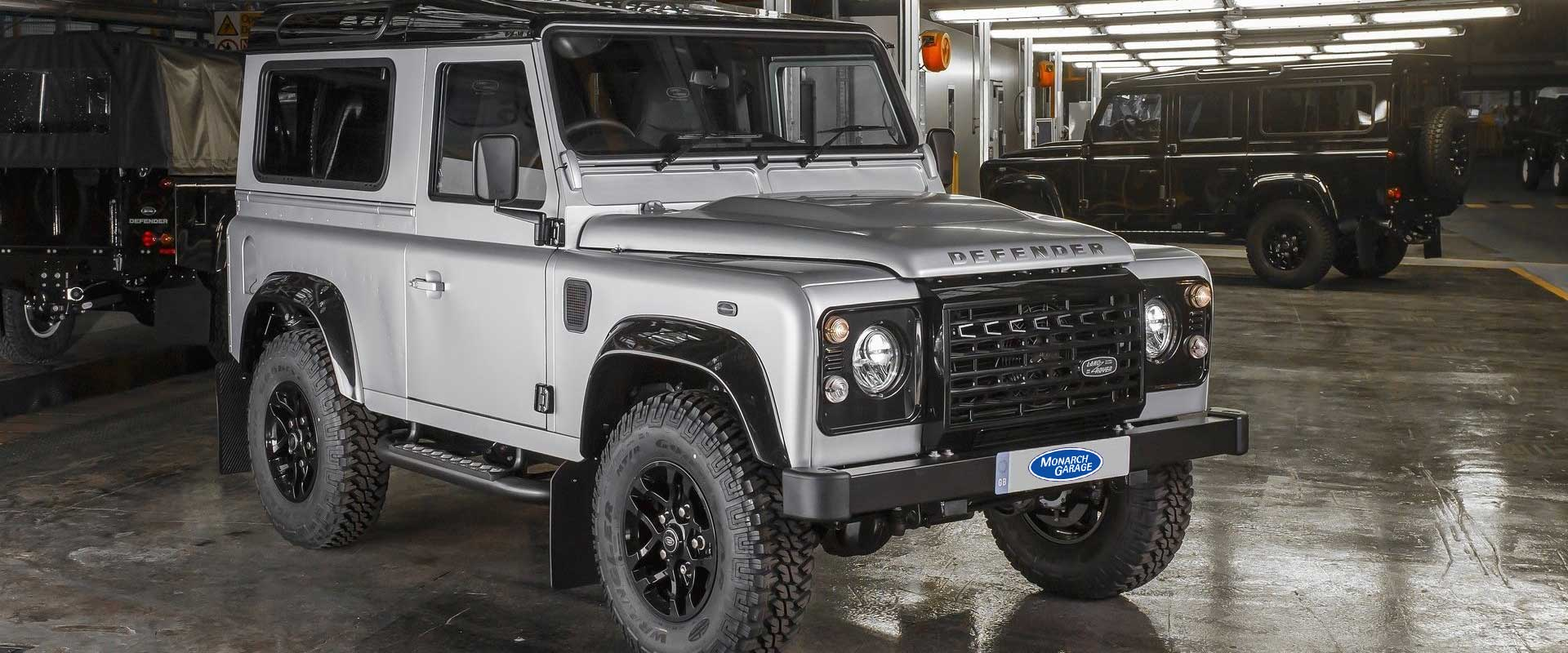 Parts and Accessories<br />For All Land Rover & Range Rovers